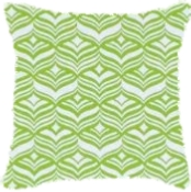 Avoca Lime Cushion