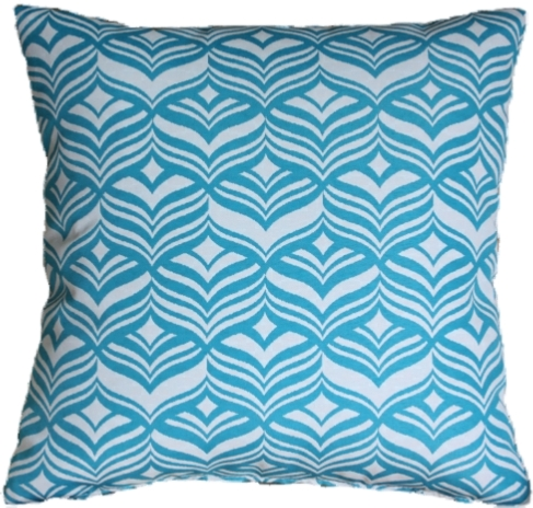 Avoca Turquoise Cushion